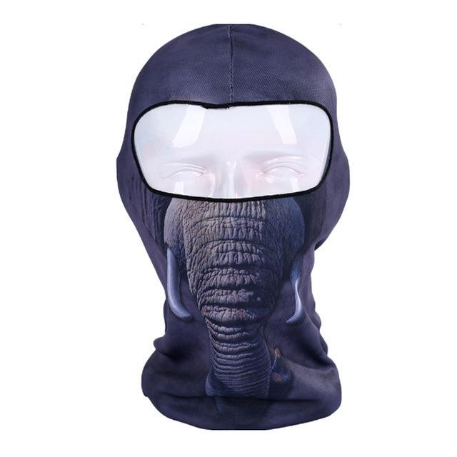 Pacific Pike -  3D Animal Full Face Mask  -  6  -