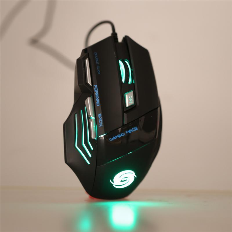 Pacific Pike -  7-Button Wired Gaming Mouse  -   -  Gadgets