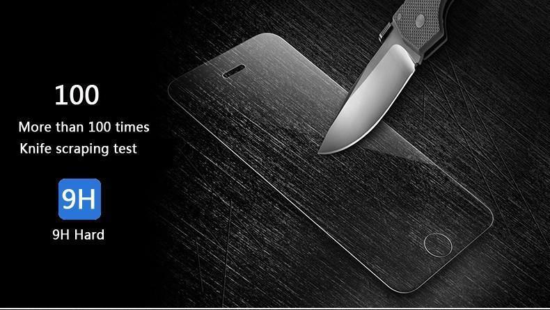 Pacific Pike -  9H tempered glass For ALL iPhone Models  -  for iphone 4 4s  -