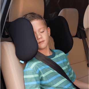 Pacific Pike -  Adjustable Safe Car Seat Headrest  -  Black / BUY ONE  -