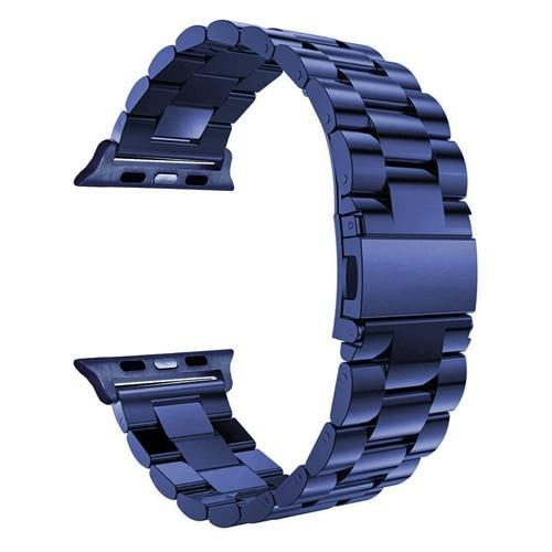 Pacific Pike -  Alloy Bands for Apple Watch 38mm or 40mm  -  Blue / SMALL 38MM/40MM  -  Gadgets