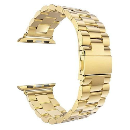 Pacific Pike -  Alloy Bands for Apple Watch 38mm or 40mm  -  Gold / SMALL 38MM/40MM  -  Gadgets