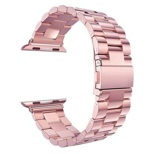 Pacific Pike -  Alloy Bands for Apple Watch 38mm or 40mm  -  Rose Red / SMALL 38MM/40MM  -  Gadgets
