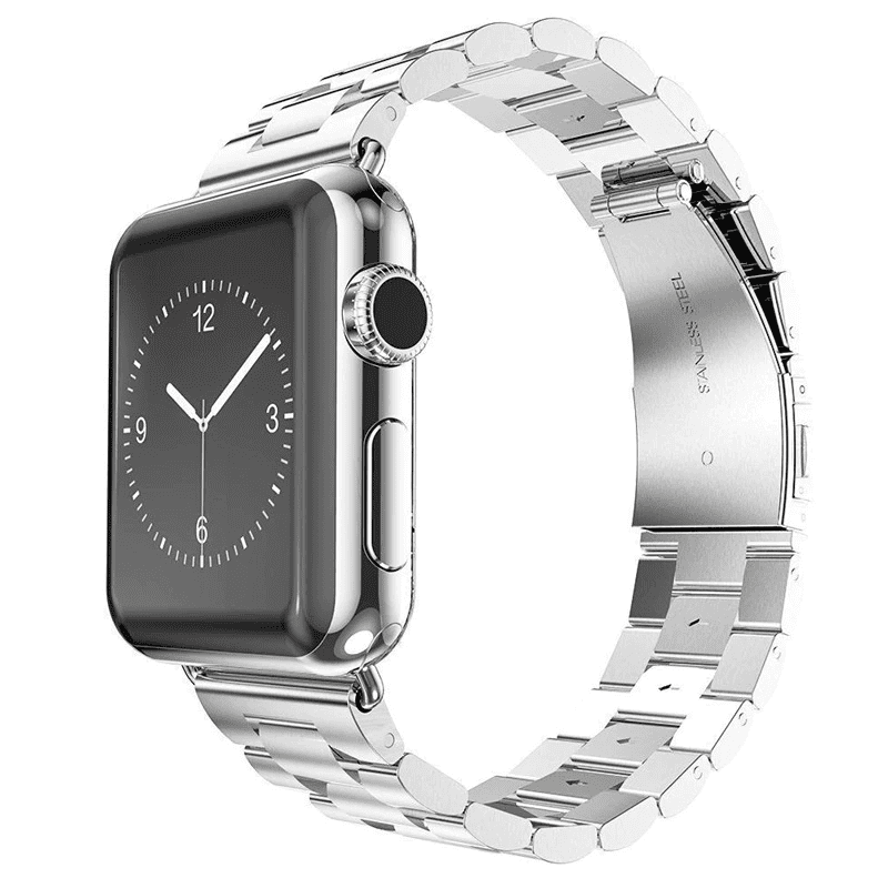 Pacific Pike -  Alloy Bands for Apple Watch 38mm or 40mm  -  Silver / SMALL 38MM/40MM  -  Gadgets