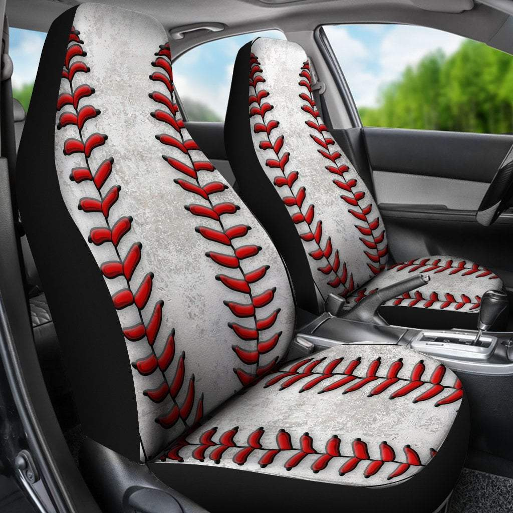 Pacific Pike -  Baseball Car Seat Covers  -   -  Sports