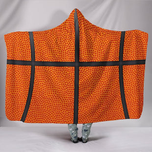 "Pacific Pike -  Basketball Hooded Blanket  -  Hooded Blanket / Youth 60""x45""  -  Hooded Blanket"