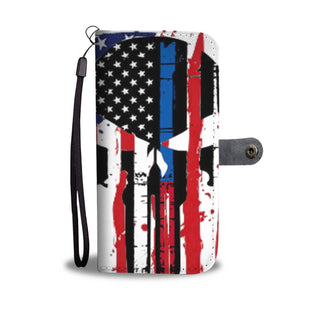 Pacific Pike -  Bleed Red White & Blue Wallet Phone Case  -  iPhone X / Xs  -  Wallet Case