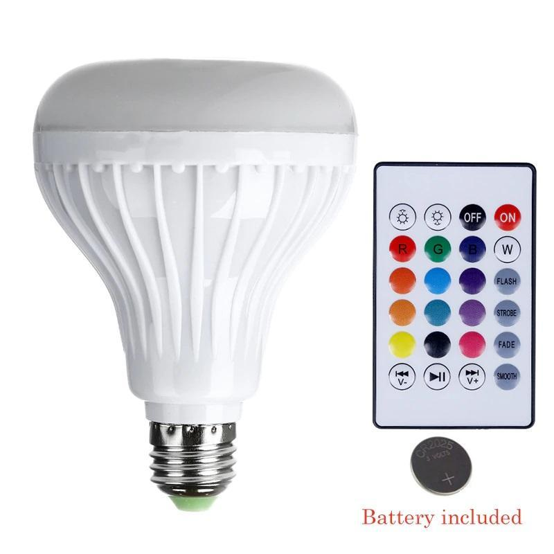 Pacific Pike -  Bluetooth Light Bulb Speaker  -  BUY ONE  -  Gadgets