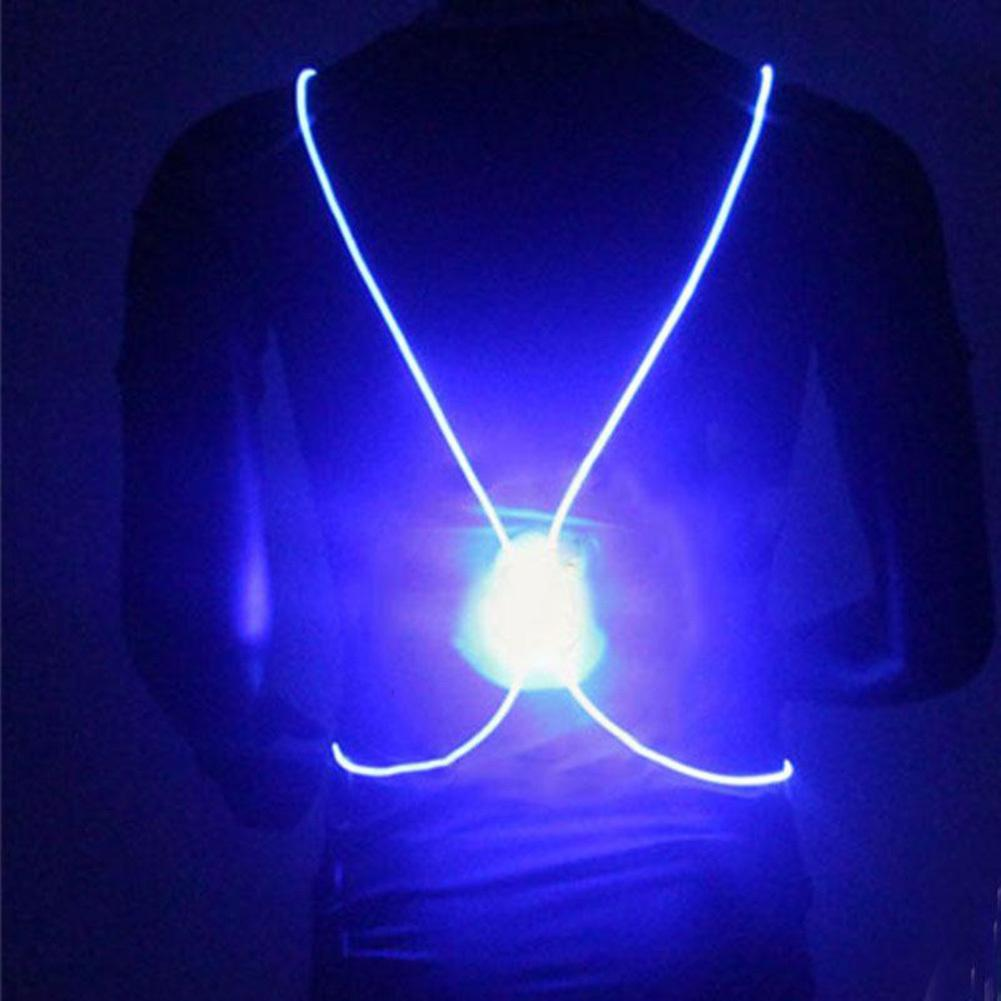 Pacific Pike -  BrightBug™ LED Visibility Vest  -  Blue  -  Running Vest