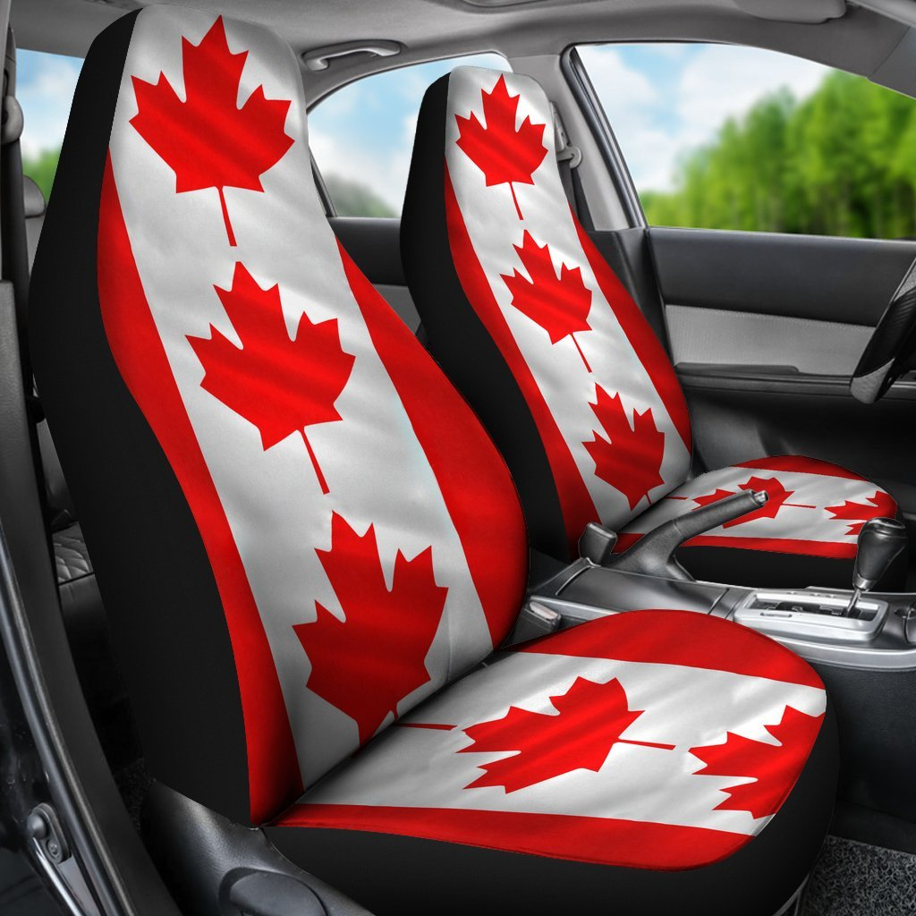 Pacific Pike -  Canadian Flag Seat Cover  -  Red  -