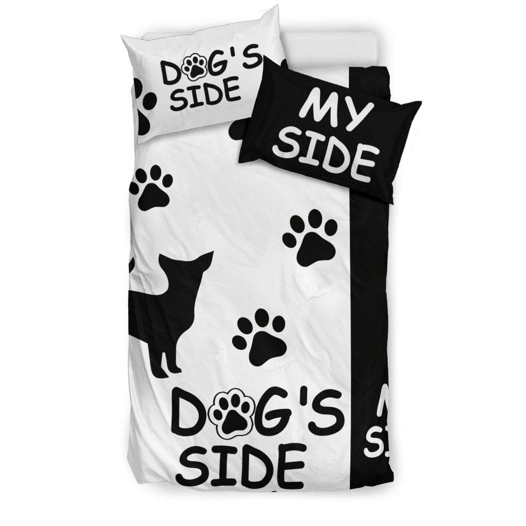 Pacific Pike -  Chihuahua Dog's Side My Side Bedding Set  -  Bedding Set / Twin  -  Bedding Set