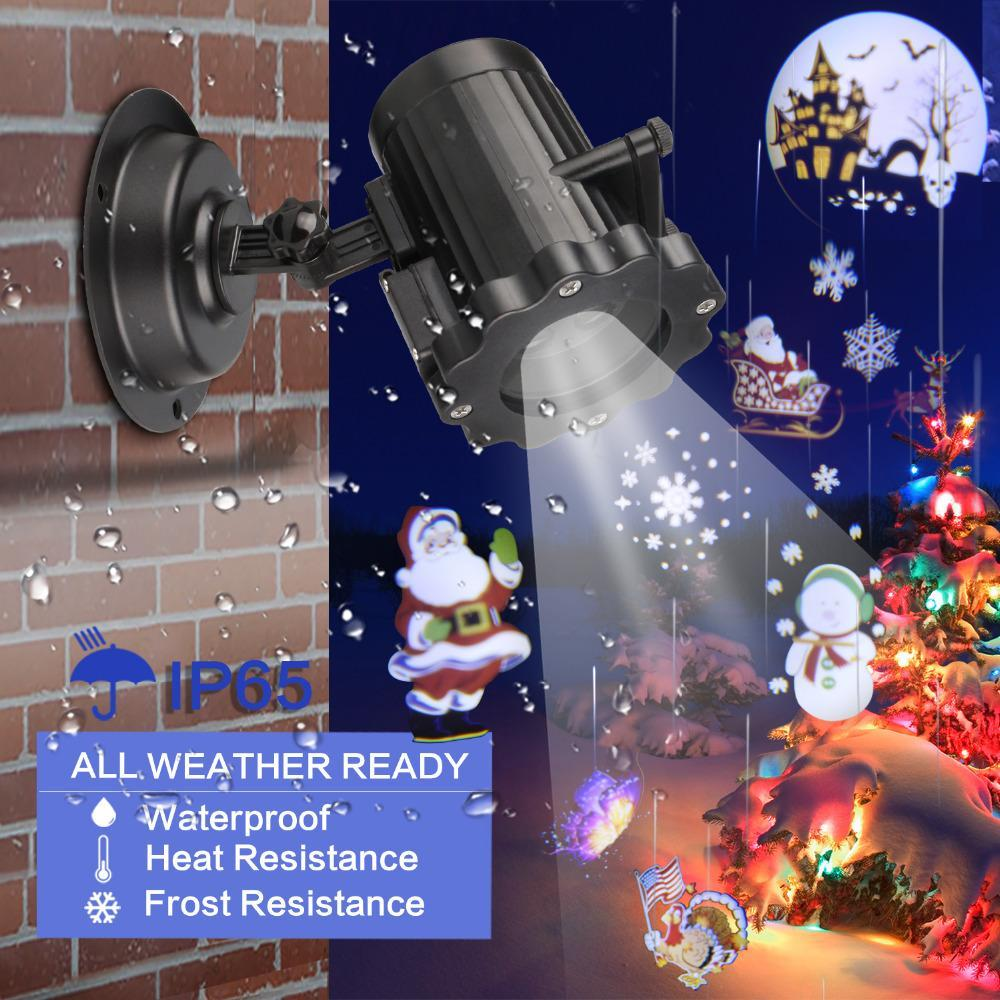 Pacific Pike -  Christmas Outdoor Projector {FINAL SALE}  -  AU Plug  -  Hidden
