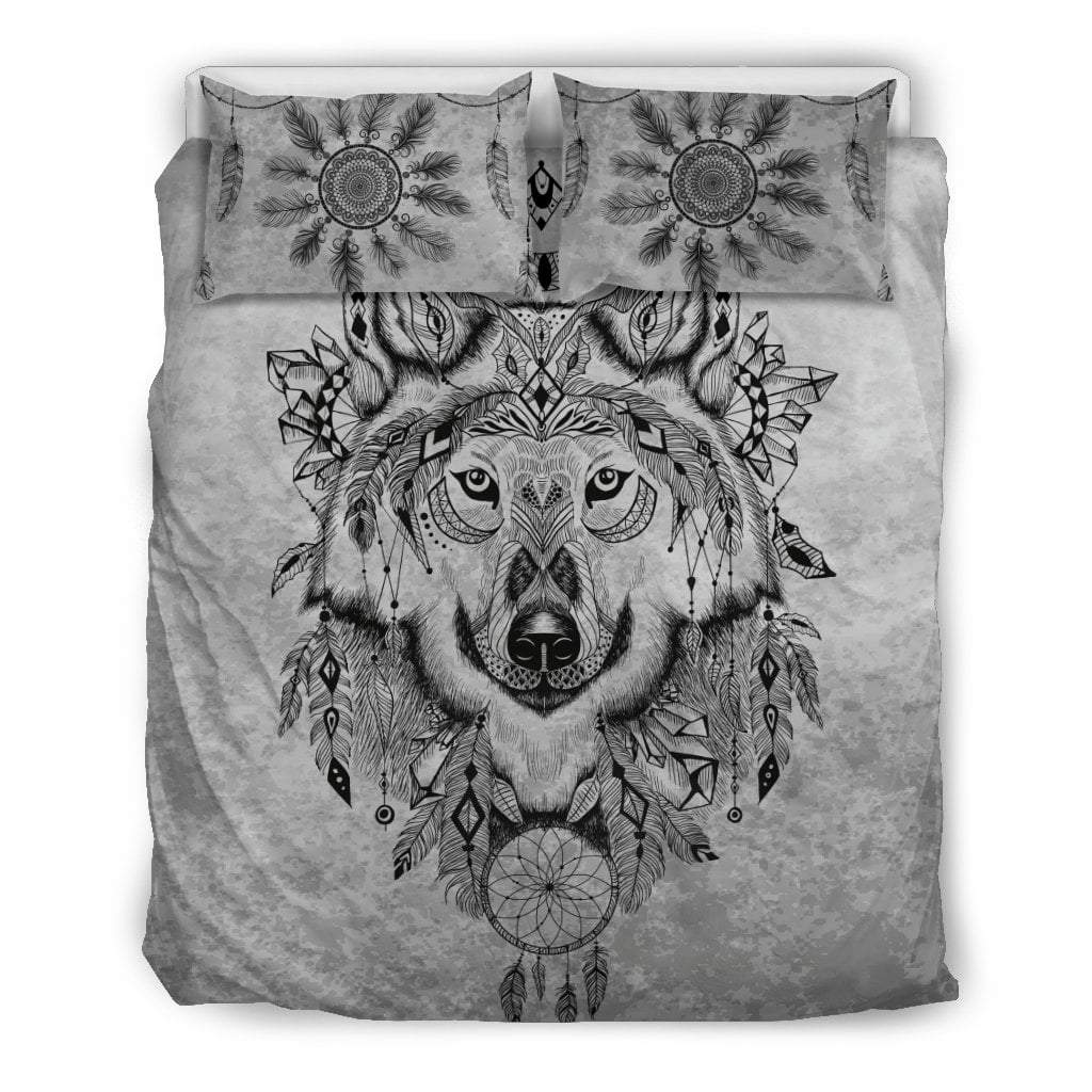 Pacific Pike -  Custom - Wolf Bedding Set  -  Bedding Set / Queen/Full  -  Bedding Set