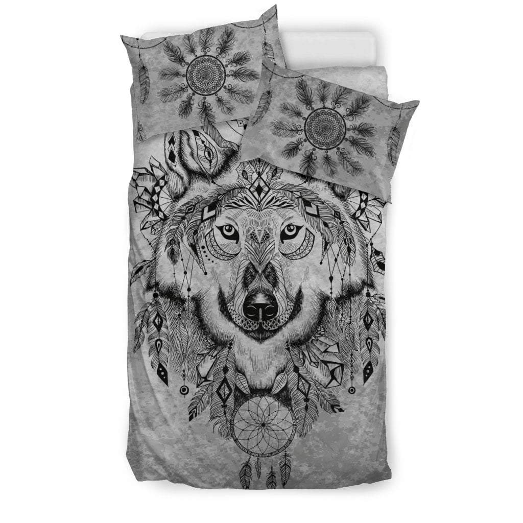 Pacific Pike -  Custom - Wolf Bedding Set  -  Bedding Set / Twin  -  Bedding Set