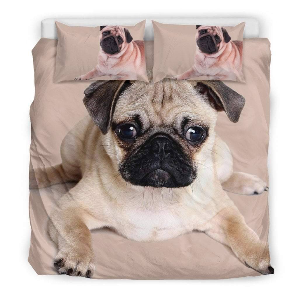 Pacific Pike -  Cute Pug I Bedding Set  -  Bedding Set / King  -  Bedding Set