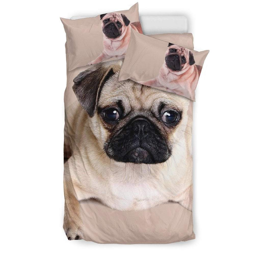 Pacific Pike -  Cute Pug I Bedding Set  -  Bedding Set / Twin  -  Bedding Set