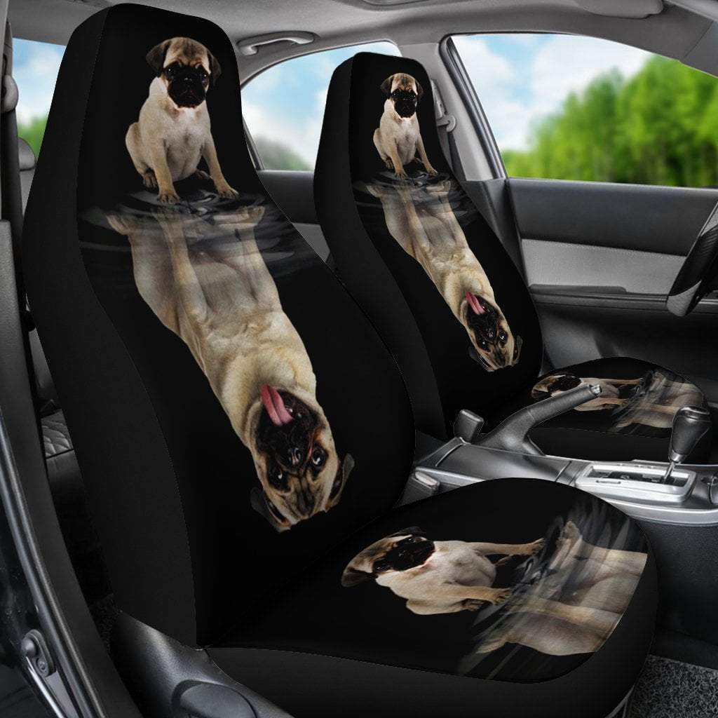 Pacific Pike -  Dream Pug Car Seat Cover  -  Dream Pug Car Seat Cover  -