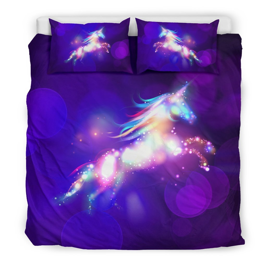 Pacific Pike -  Dream Unicorn Custom Bed Set  -  Bedding Set / King  -  Bedding Set