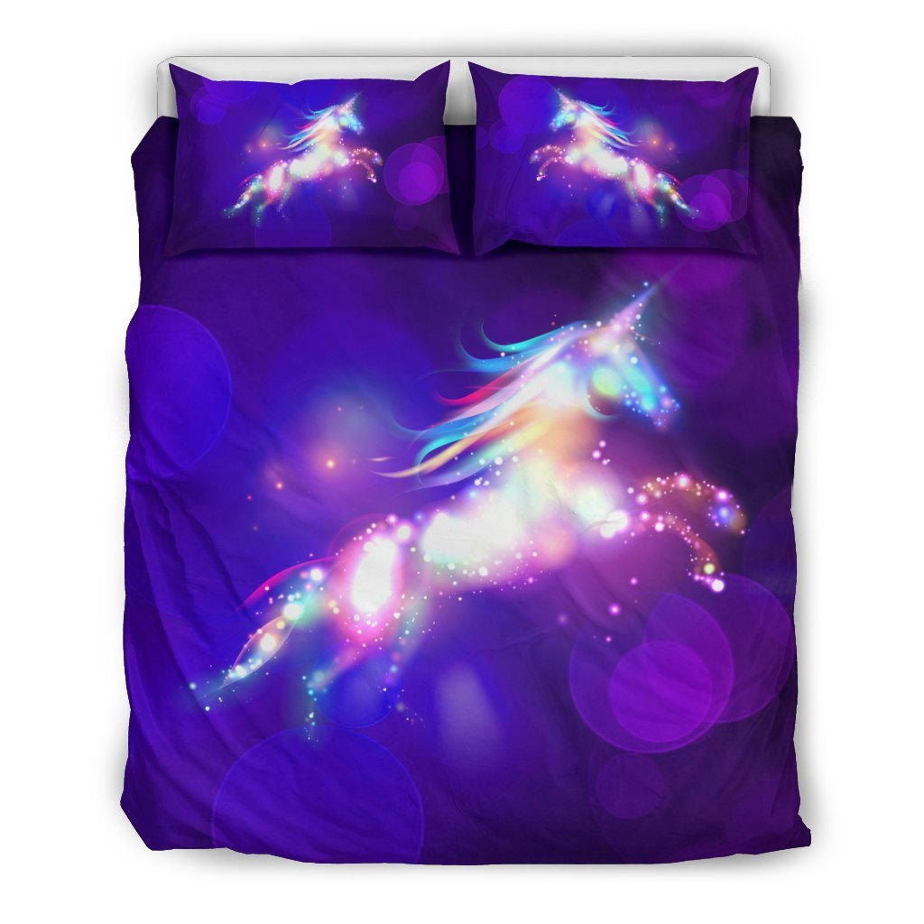 Pacific Pike -  Dream Unicorn Custom Bed Set  -  Bedding Set / Queen/Full  -  Bedding Set