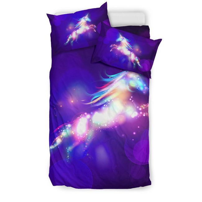 Pacific Pike -  Dream Unicorn Custom Bed Set  -  Bedding Set / Twin  -  Bedding Set