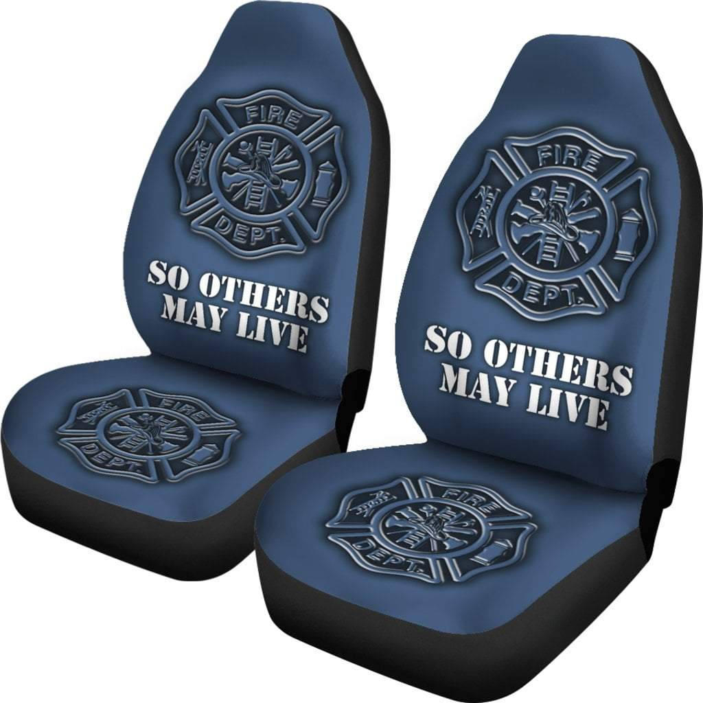 Pacific Pike -  Fire Department Car Seat Covers  -  Fire Department Car Seat Covers  -