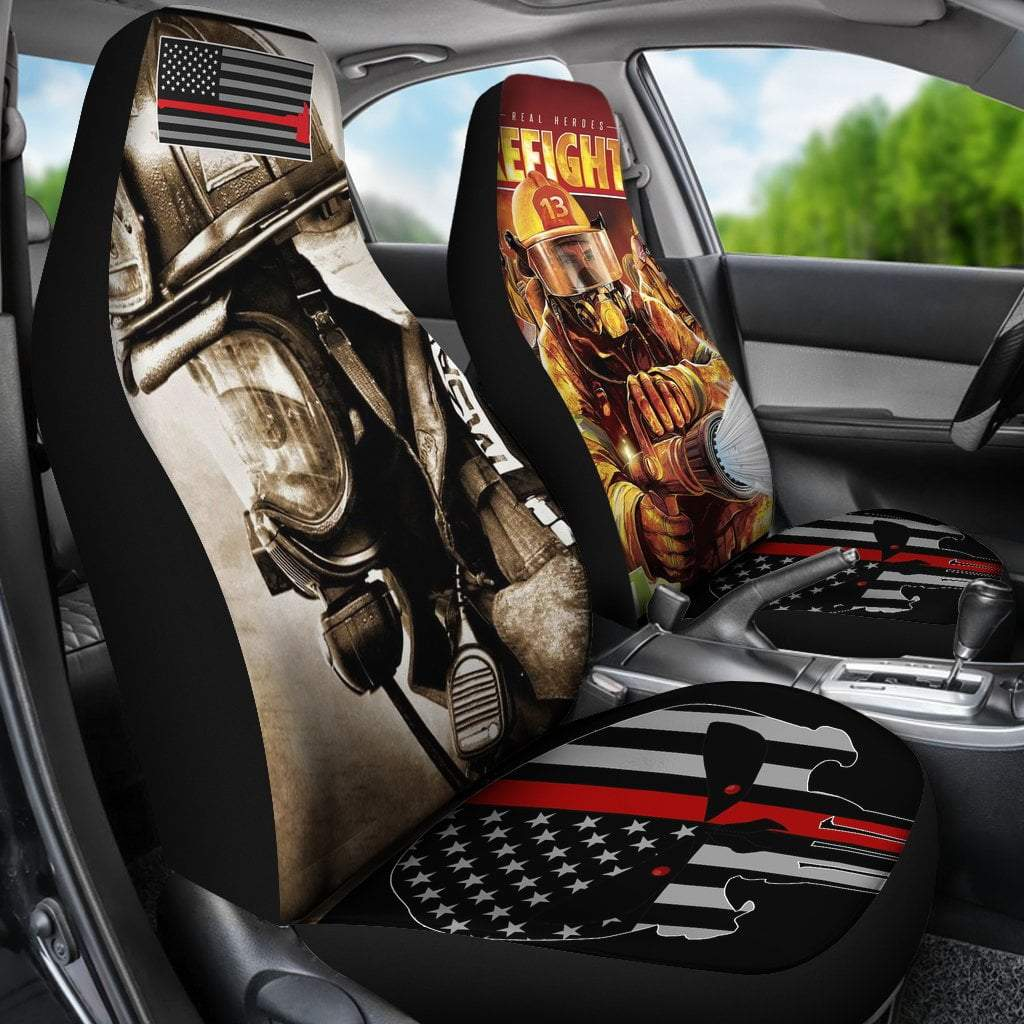 Pacific Pike -  Firefighter car seats cover  -  Firefighter car seats cover  -