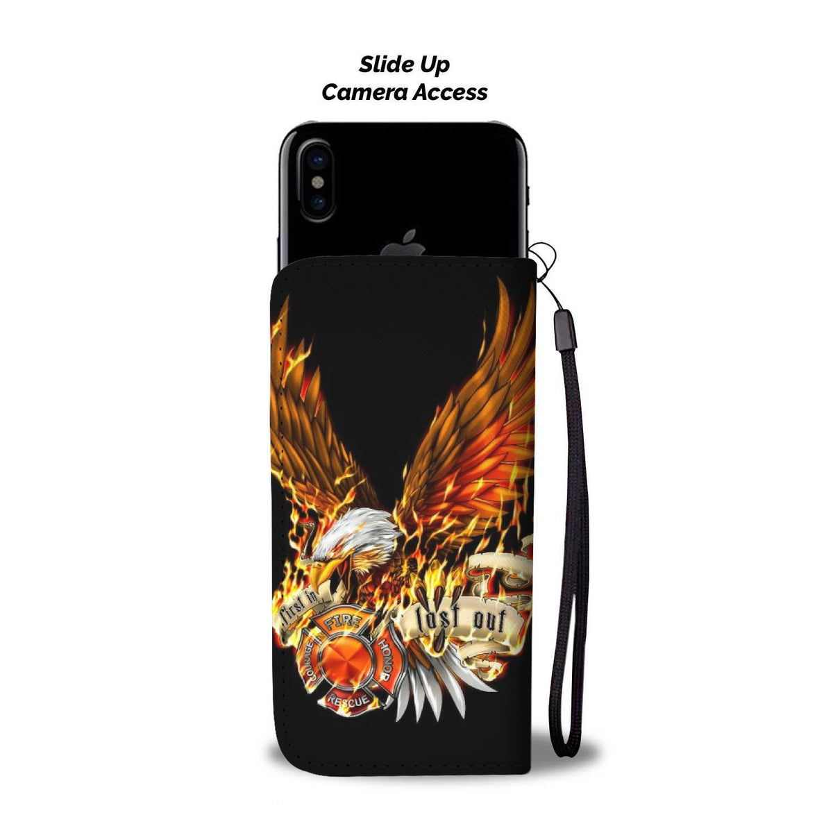 Pacific Pike -  First In Last Out Custom Wallet Phone Case  -  iPhone X / Xs  -  Wallet Case
