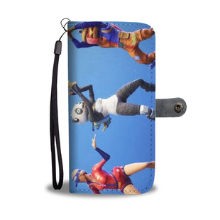 Pacific Pike -  Fortnite Dancing Bear Custom iPhone Wallet Case  -  iPhone X / Xs  -  Wallet Case