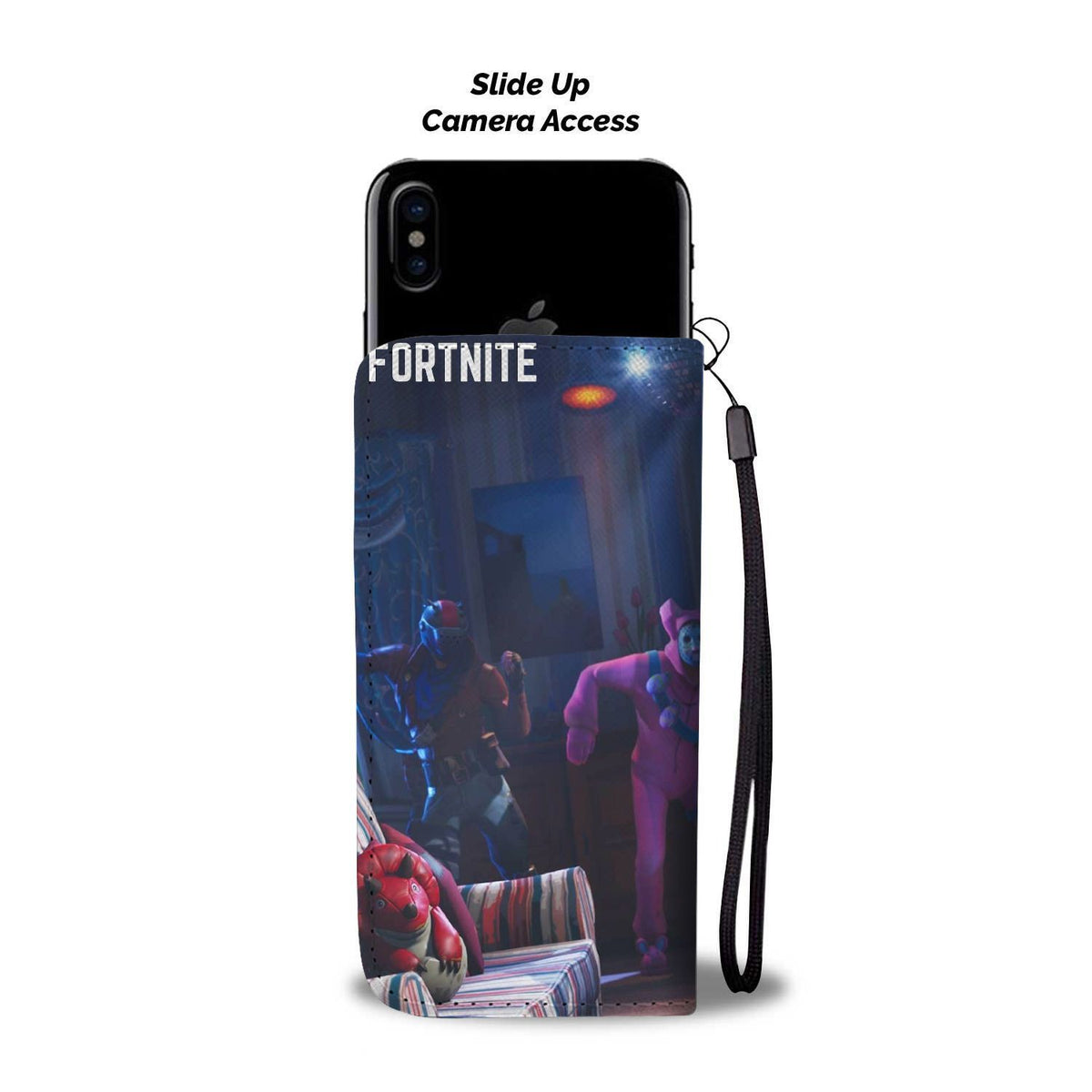 Pacific Pike -  Fortnite Dancing Custom iPhone Case  -  iPhone X / Xs  -  Wallet Case