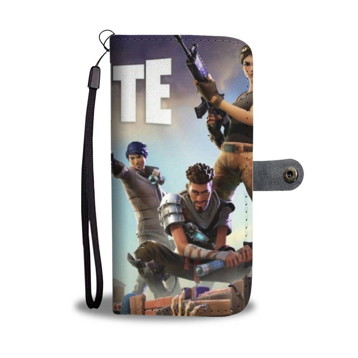 Pacific Pike -  Fortnite Destroy Custom iPhone Case  -  iPhone X / Xs  -  Wallet Case