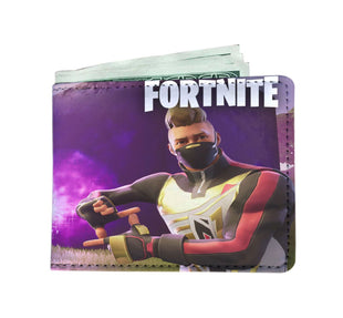 Pacific Pike -  Fortnite Electric Custom Wallet  -   -  Mens Wallet