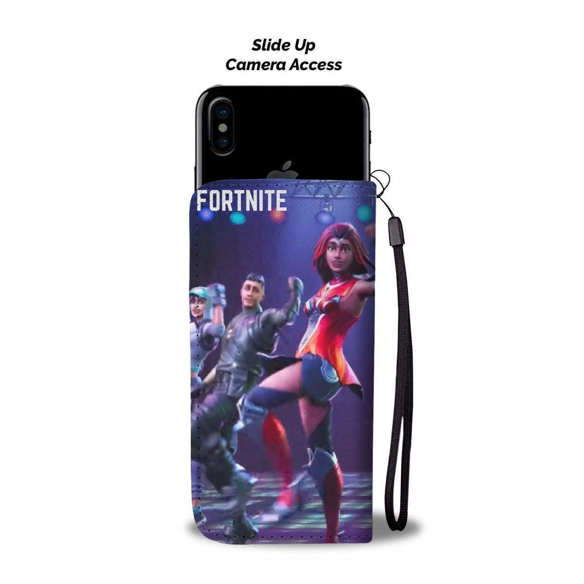 Pacific Pike -  Fortnite Shake Custom iPhone Case  -  iPhone X / Xs  -  Wallet Case