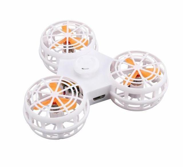 Pacific Pike -  MAC 1 Flying Fidget Spinner  -  White / Buy 1  -  Fidget Spinner