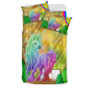 Pacific Pike -  Magic Unicorn Doona Bed Set  -  Bedding Set / Twin  -  Bedding Set