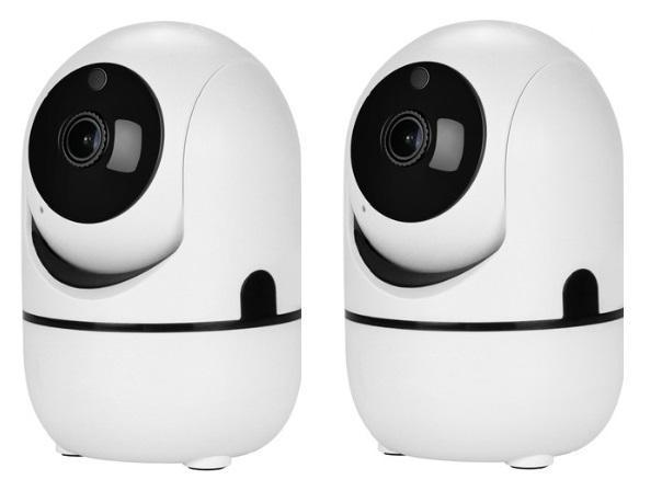 Pacific Pike -  MEGA Smart IP Cloud Security Camera  -  1080P (WHITE) / US Plug / BUY 2 (SAVE 30%)  -  Home Security
