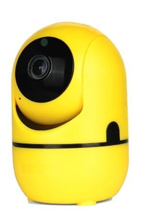 Pacific Pike -  MEGA Smart IP Cloud Security Camera  -  1080P (YELLOW) / US Plug / BUY ONE  -  Home Security