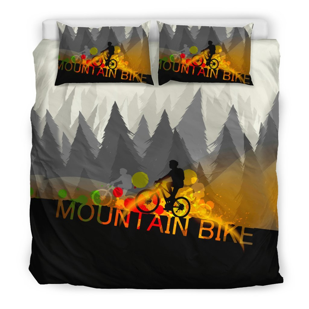 Pacific Pike -  Mountain bike Bedding Set  -  Bedding Set / US King  -  Bedding Set
