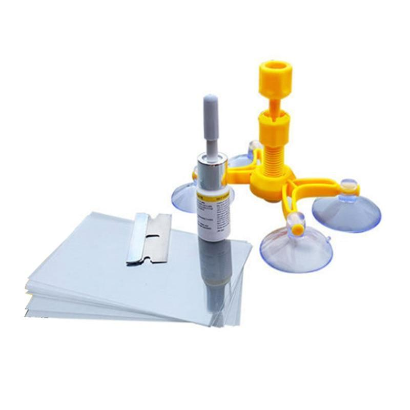 Pacific Pike -  Pacific Pike Cracked Glass Repair Kit  -  yellow  -  Cracked Glass Repair Kit