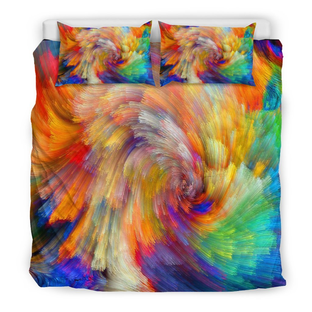 Pacific Pike -  Painted Colours - Doona Duvet Bedding Set  -  Bedding Set / King  -  Bedding Set