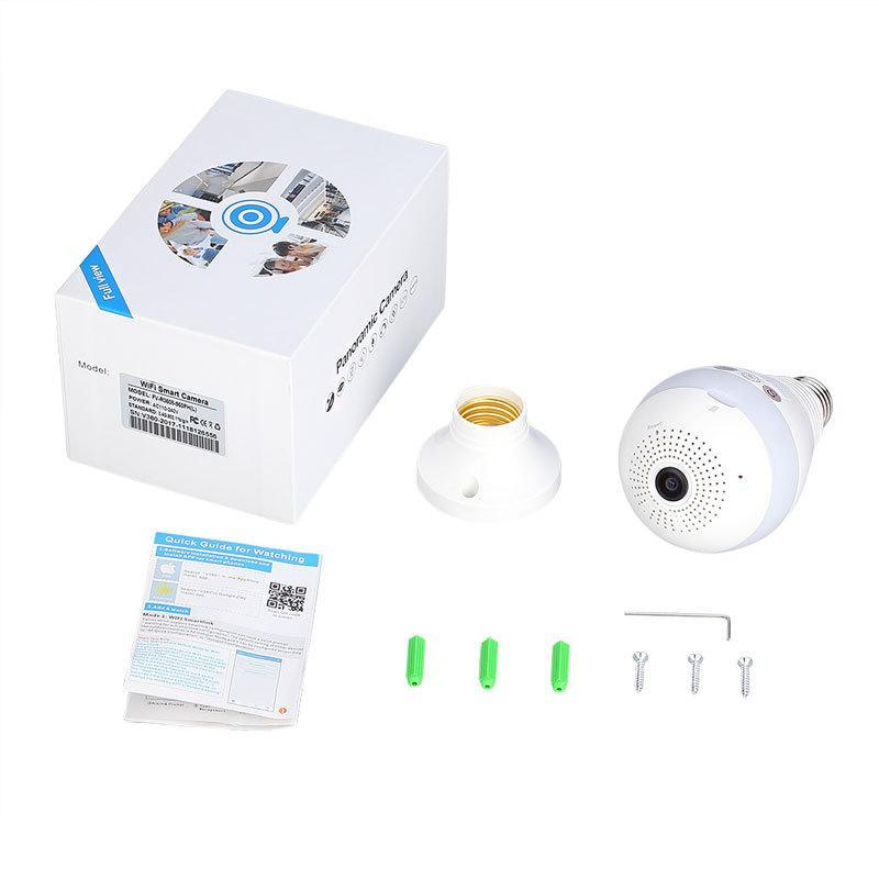 Pacific Pike -  Panoramic Wireless Bulb Security Camera  -  BUY ONE  -  Gadgets