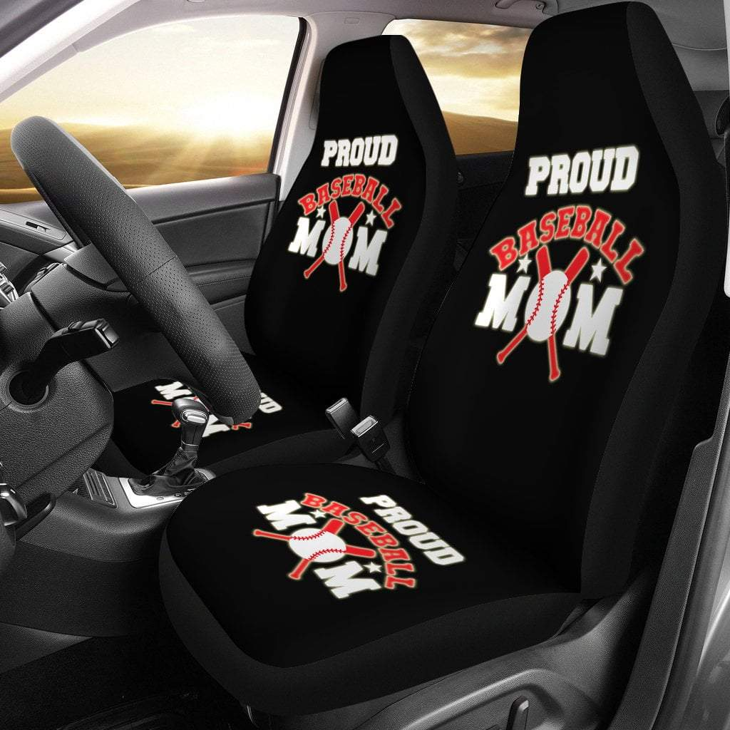 Pacific Pike -  Proud Baseball Mom Car Seat Covers  -   -  Sports