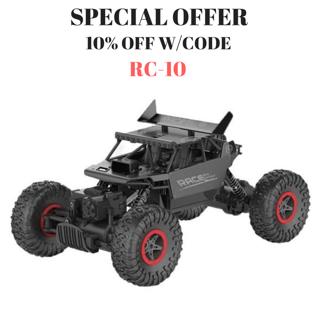 Pacific Pike -  RC Four-Wheel Drive Crawler  -   -  RC Cars