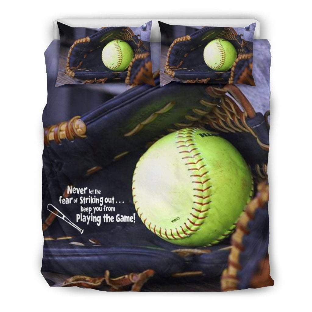 Pacific Pike -  Softball Glove Bedding sets  -  Bedding Set / Queen/Full  -  Bedding Set