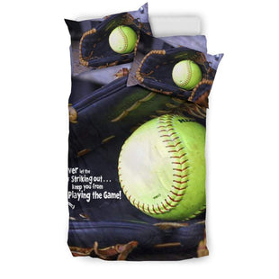 Pacific Pike -  Softball Glove Bedding sets  -  Bedding Set / Twin  -  Bedding Set
