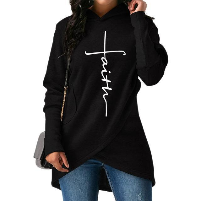 Pacific Pike -  The Active  Faith Hoodie  -  Black / S  -