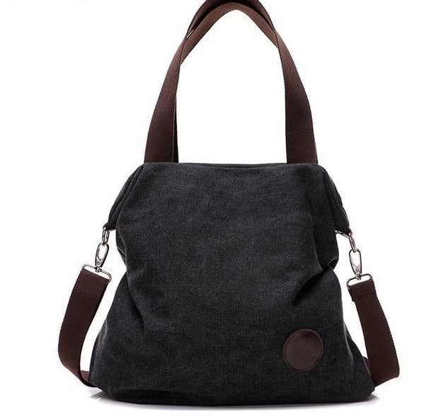 Pacific Pike -  The Petite Outlander  -  Black  -  Shoulder Bags