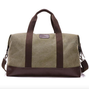 Classic Fashion Women's Weekender Bag -  Army Green  -