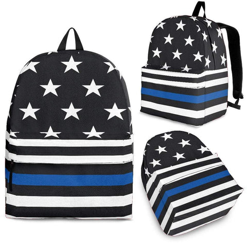 Pacific Pike -  Thin Blue Line Backpack  -  Backpack / Adult (Ages 13+)  -