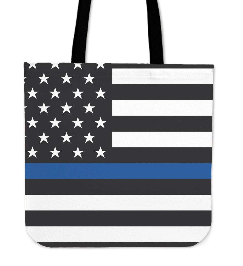 Pacific Pike -  Thin Blue Line Tote Bag  -   -