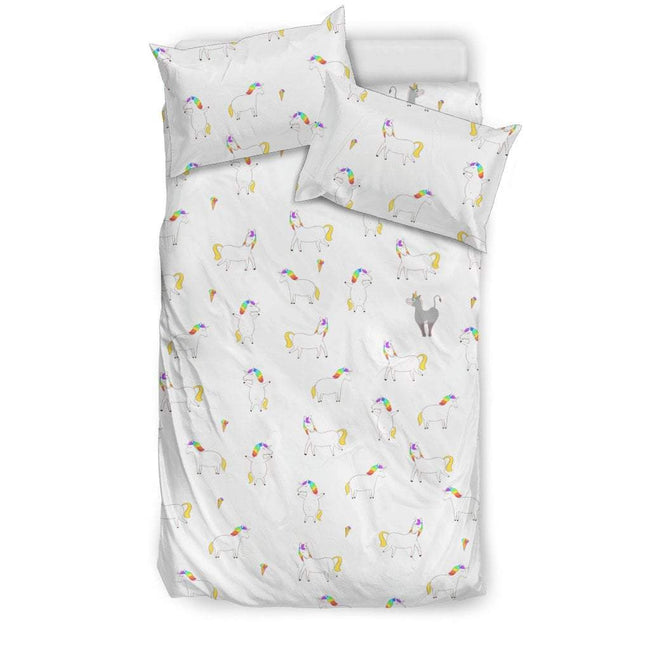 Pacific Pike -  Unicorn Cloud Bedding Set  -  Bedding Set / Twin  -  Bedding Set